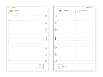 Amazon.com: Finocam - Recambio Anual 2020 1 Día Página ...