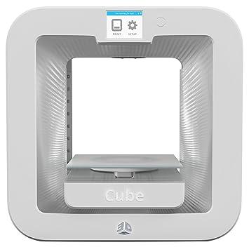 3D Systems Cube 3 - Impresora 3 Wht, 392200: Amazon.es ...