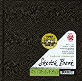 Pentalic Sketch Book, Hardbound, 7-Inch by 7-Inch