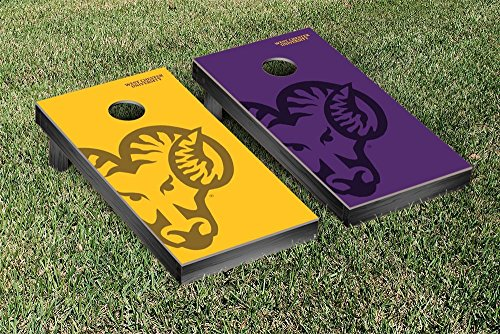 West Chester Golden Rams Regulation Cornhole Game Set Watermark Version by Victory Tailgate