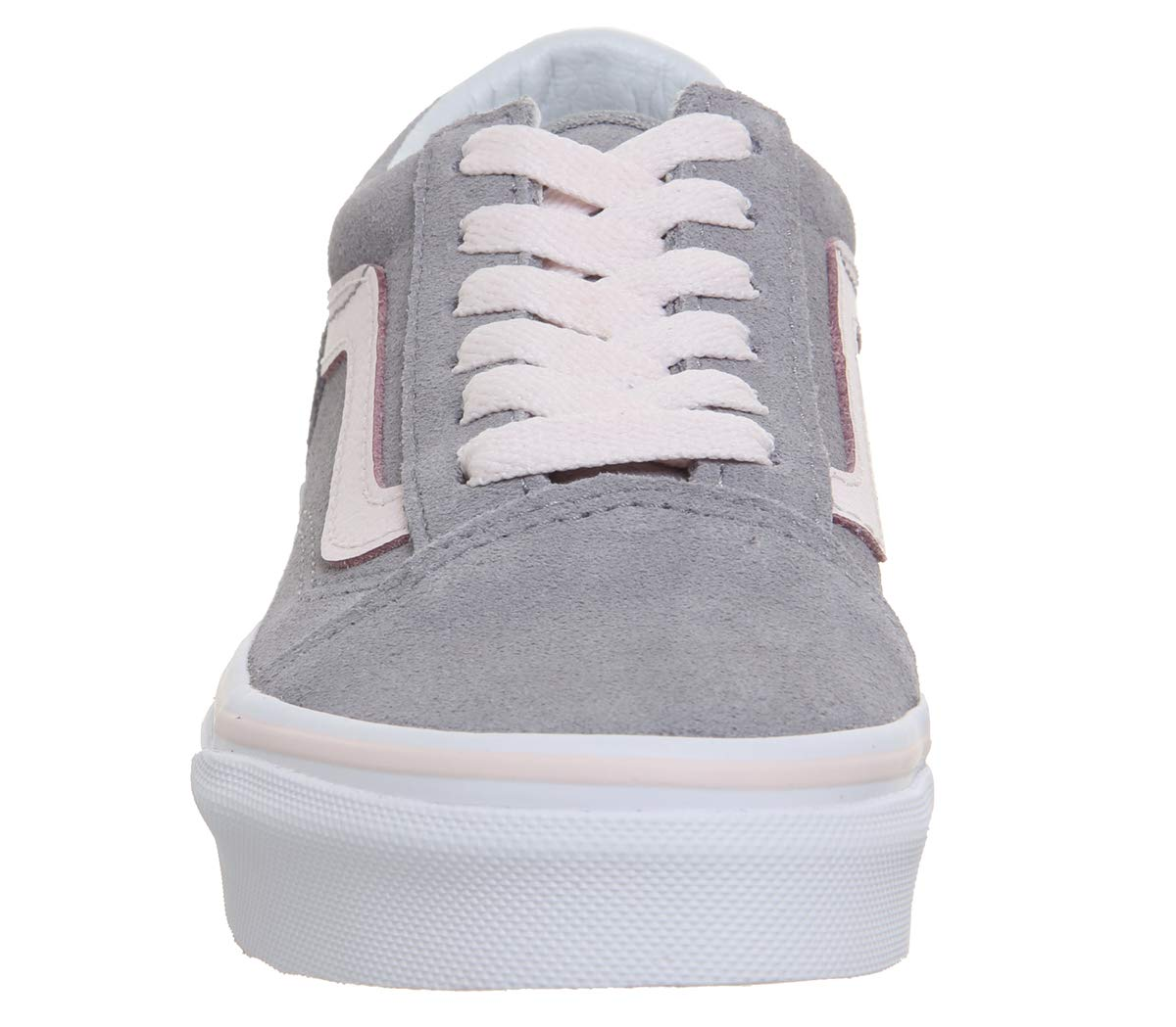 Vans Sneaker, Unisex-Kinder Old Skool Suede Sneaker, Vans Dress Bleu/True Blanc Alloy Heavenly Pink True Weiß 9899f7