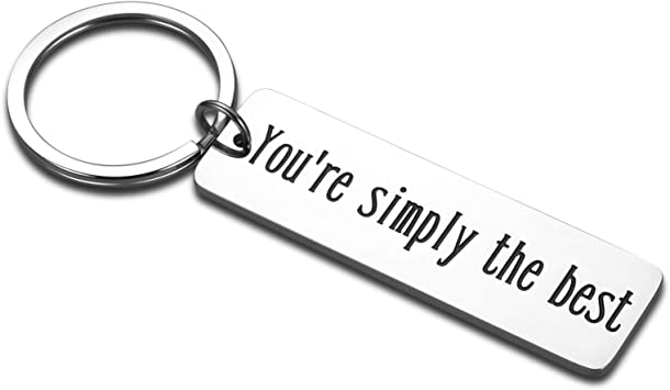 You\u2019re Simply the best keychain ~ David Rose