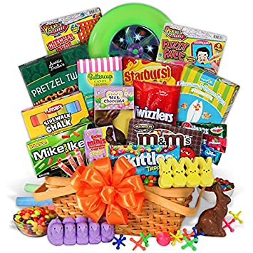 Easter candy and toys basket amazon grocery gourmet food easter candy and toys basket negle Gallery