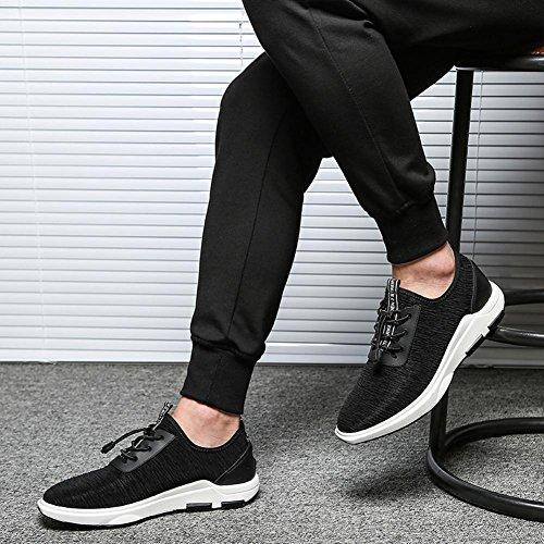 Maschio tempo libero Scarpe da corsa leggero traspirante indossare Piano inferiore Superficie della maglia pizzo Scarpe sportive all'aperto , 44