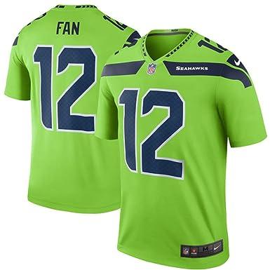 official photos 77d33 fdf01 12 Fan Trikot Seattle Seahawks Jersey American Football ...