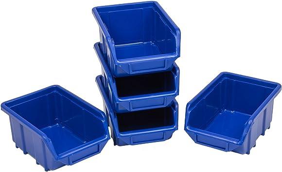 30 apilable Caja Visión Cajas Cajas de almacenamiento de plástico ...