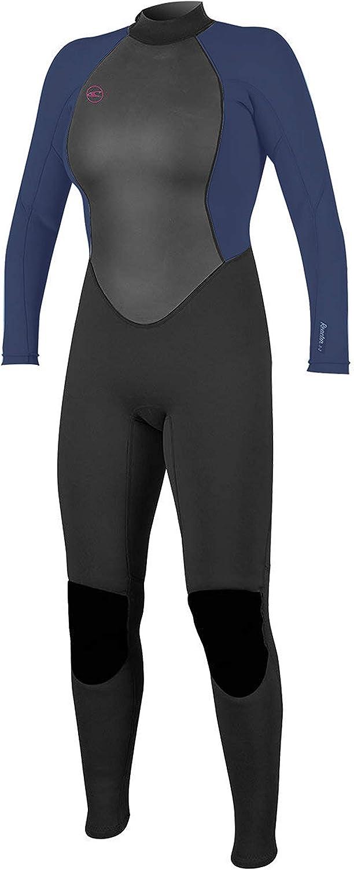 O Neill Women s Reactor-2 3 2mm Back Zip Full Wetsuit