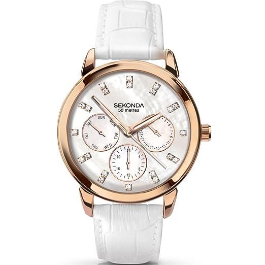 bb8dbe3c653e Ladies Sekonda Chronograph Watch 2285: Amazon.co.uk: Watches