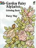Garden Fairy Alphabet Coloring Book