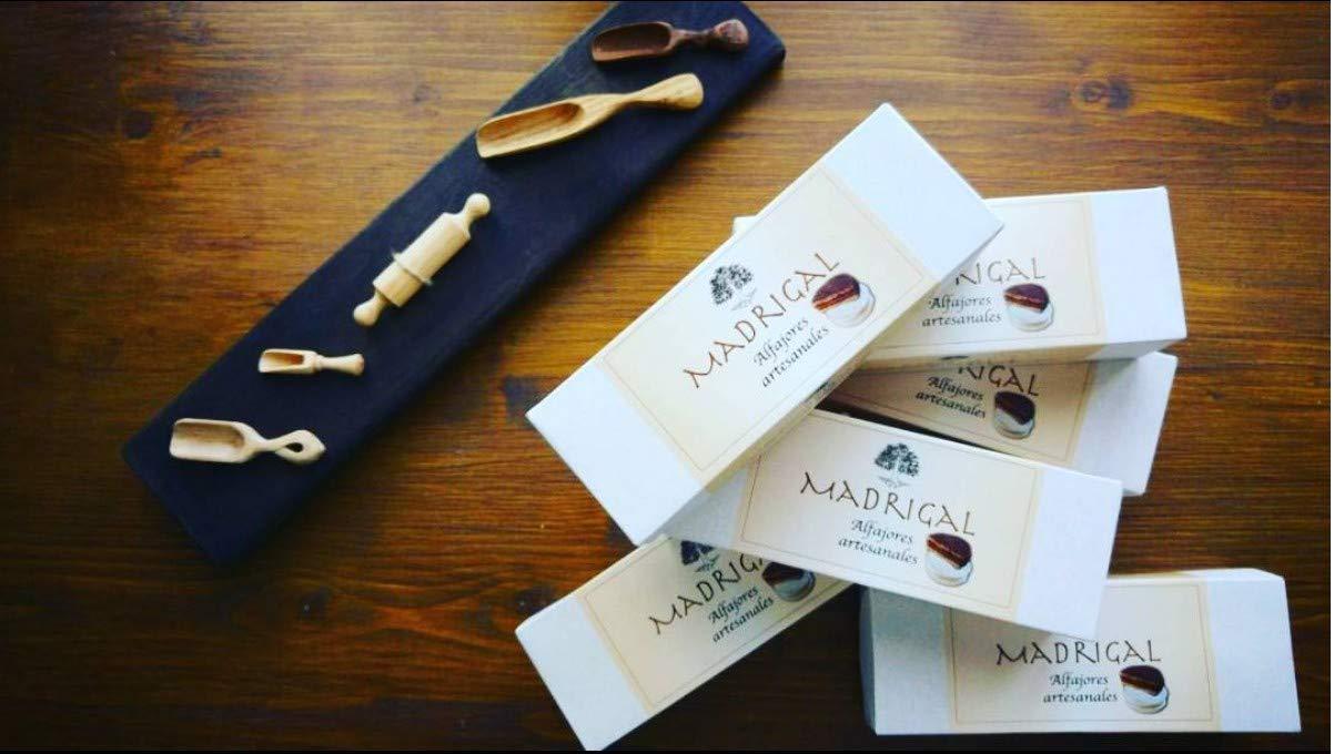 LaCasadeTé - Alfajores artesanales Madrigal - Azúcar Glass, 6 Unidades: Amazon.es: Alimentación y bebidas