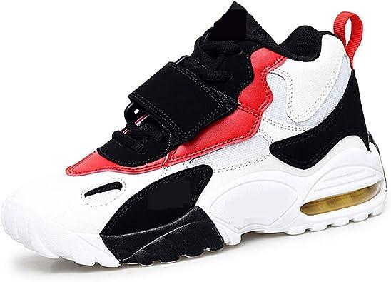 Zapatillas Altas Casuales, Zapatillas de Baloncesto Que absorben los Golpes, colchón de Aire de Moda, Salvaje: Amazon.es: Zapatos y complementos