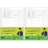 学研ステイフル STUDY STATIONERY ルーズリーフ B5 単語暗記用 2パック ED03077×2