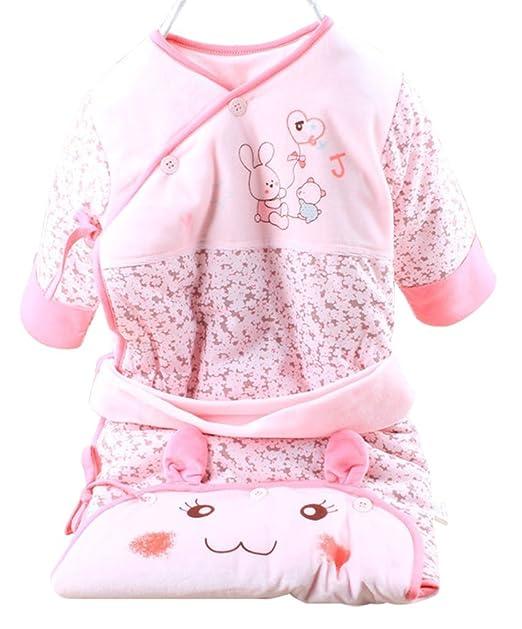 Drasawee - Saco de dormir - para bebé niña rosa rosa Small: Amazon.es: Ropa y accesorios