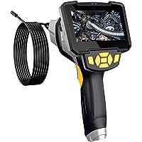NICEXMAS Câmera de Inspeção de Cobra Com Boroscópio Industrial de 1 Unidade Câmera Digital de Boroscópio à Prova D'água…