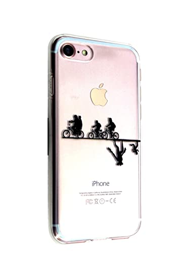 info for c961f 197fb Amazon.com: iPhone 7 8 Plus CASEMPIRE Stranger Things Bicycle TPU ...