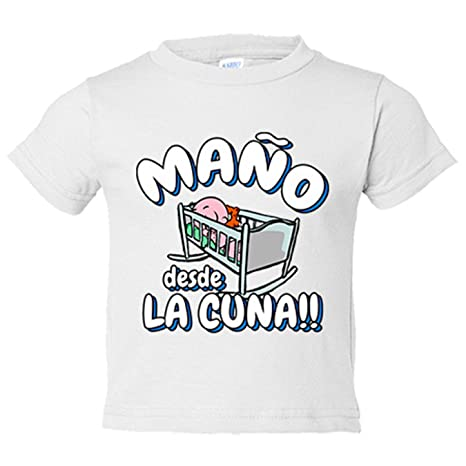 Camiseta niño Maño desde la cuna Zaragoza fútbol - Amarillo ...