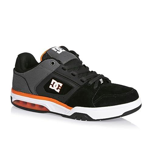 Dc Shoes Rival M Shoe Xssn, Color: Grey/Grey/Orange, Size: 43 EU (10 US / 9 UK)