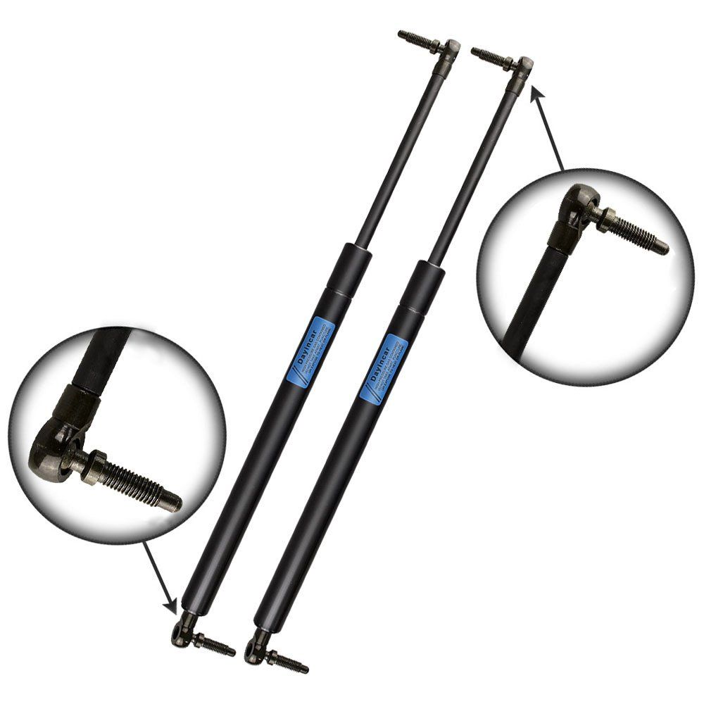 (Pack of 2) 4699 Liftgate Shocks Struts Rear Hatch Tailgate Trunk Lift Supports for 1999-2004 Jeep Grand Cherokee Dayincar Auto Parts