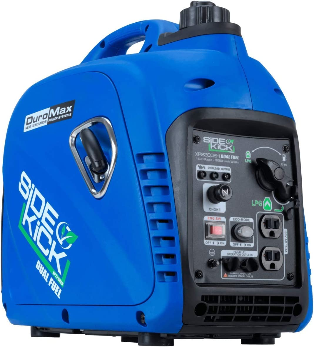 DuroMax XP2200EH Portable Generator, Blue