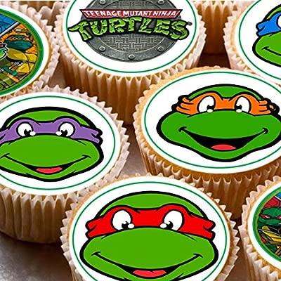 Print4you 24 Tortugas Ninja Mutant Ninja Turtles mezcladas ...