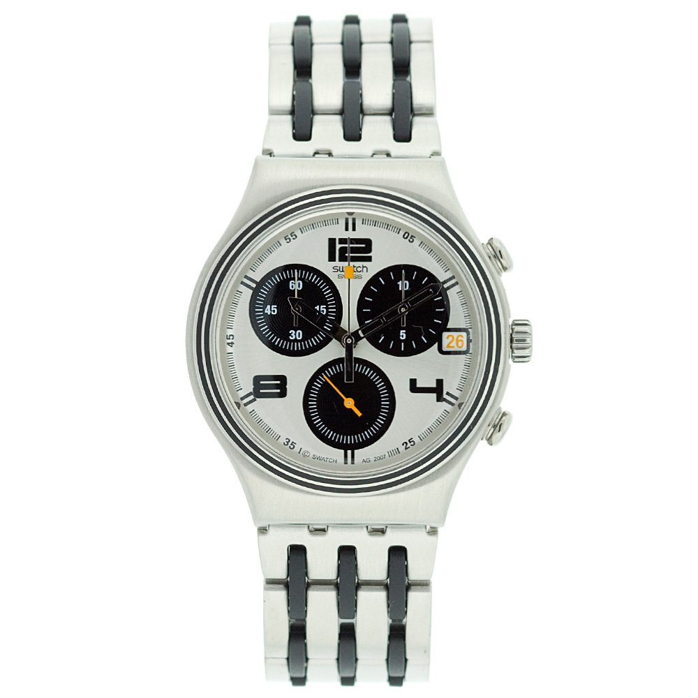 Amazon.com: Swatch Mens YCS507G See My Time Watch: Watches