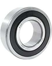WJB 2207-2RS Self Aligning Ball Bearing, ABEC-1, Double Sealed, Steel, Metric, 35mm Bore Diameter, 72mm Outer Diameter, 23mm Width, 5500 rpm, 1480 lbs Static Load Capacity, 4850 lbs Dynamic Load Capacity