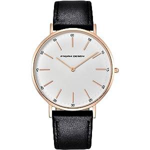 Reloj De Diseño Pagani Con Cristal De Cuarzo - Reloj Impermeable - Reloj Clásico Con Correa