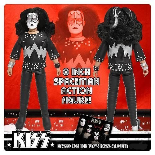 KISS 1st Album Series 2 8-Inch Spaceman Action Figure by Figures Toy Company