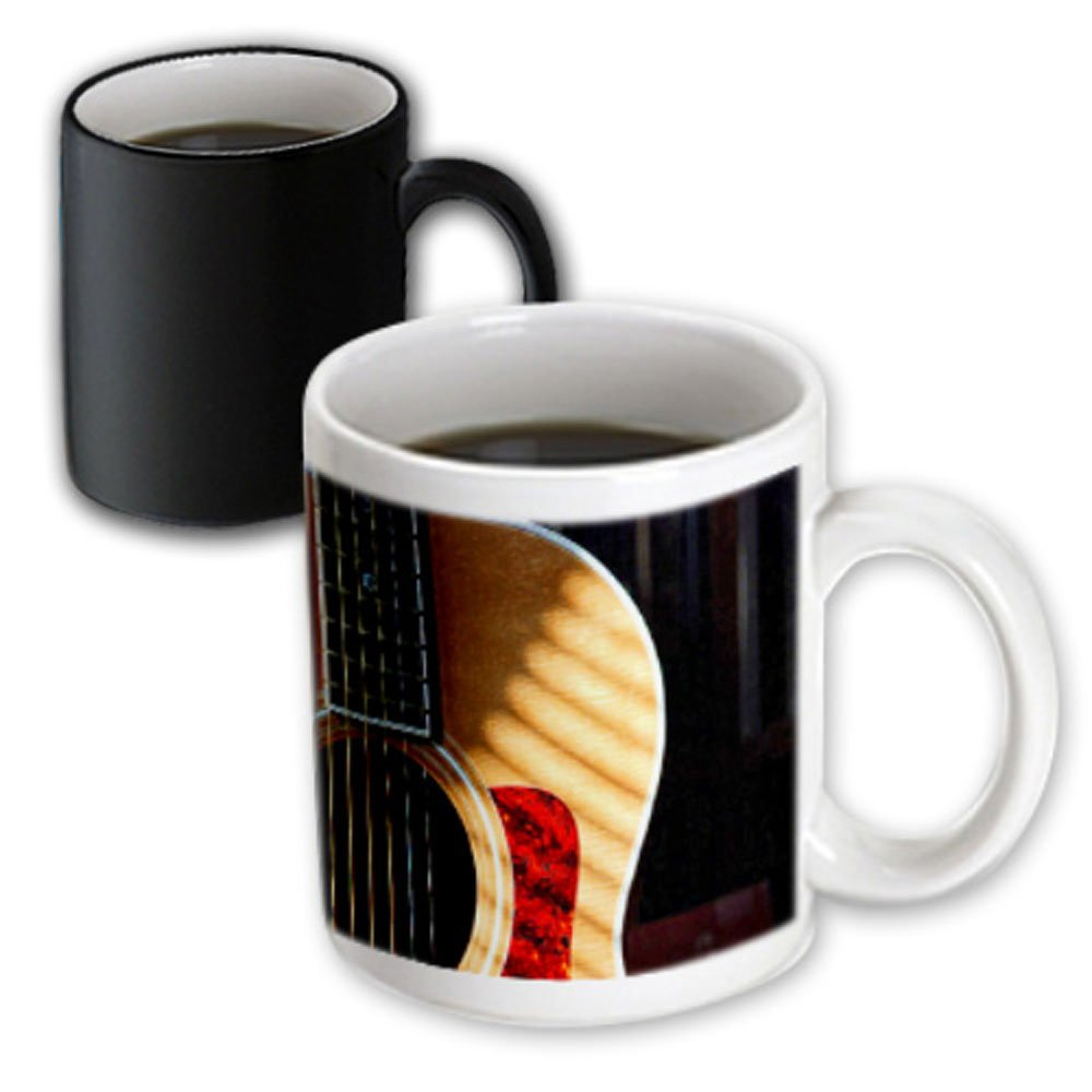 Buy 3drose Mug 62245 3 Digitally Painted Acoustic Guitar In Shadow Magic Transforming Mug 11 Ounce Online At Low Prices In India Amazon In