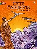 Erte Fashions Coloring Book, Erte, 0486430413