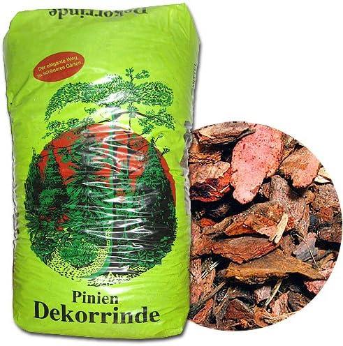 Corteza de pino Mantillo de calidad de pino y Grano, elegible: Amazon.es: Jardín