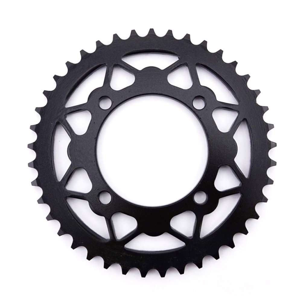 TC-Motor 420 41T 76mm Rear Black Chain Sprocket For Chinese Pit Dirt Bike Motorcycle Motocross 50cc-160cc