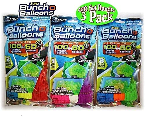 Water Balloons for Kids Boys & Girls Adults Party Easy Quick Summer Splash Fun Outdoor Backyard For Water Bomb Fight Games Swimming Pool Outdoor Fun