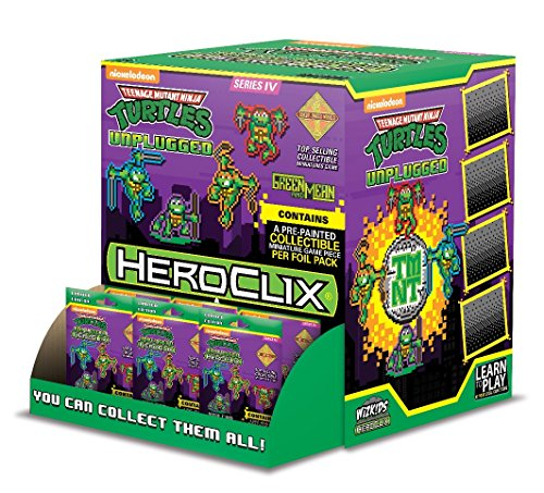 Teenage Mutant Ninja Turtles HeroClix: Unplugged Gravity Feed Display (Gravity Feed Display)