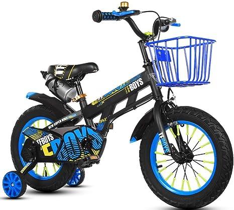 WJSW Bicicletas para niños Bicicleta de niño Niña Bicicleta de ...