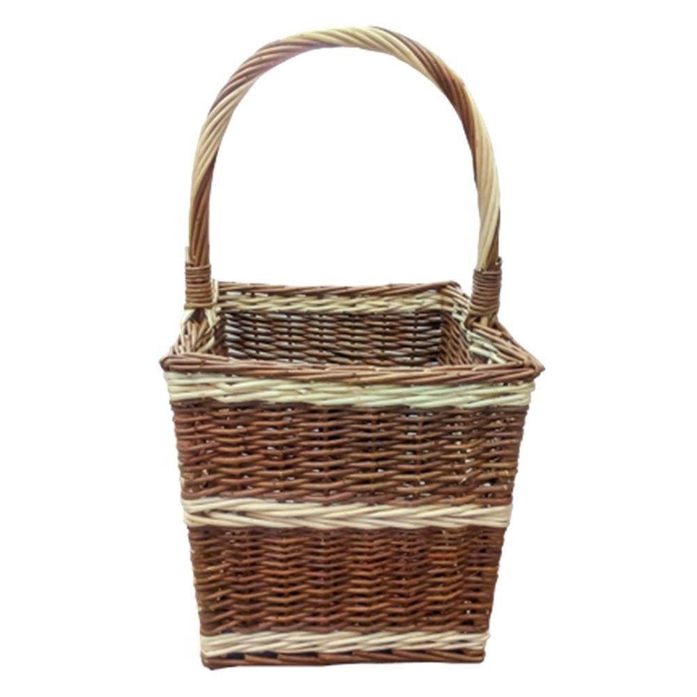 Beaufort Retangular Wicker Shopping Basket
