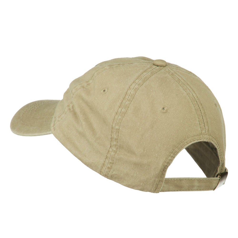 e4Hats.com Maryland State Map Embroidered Washed Cap