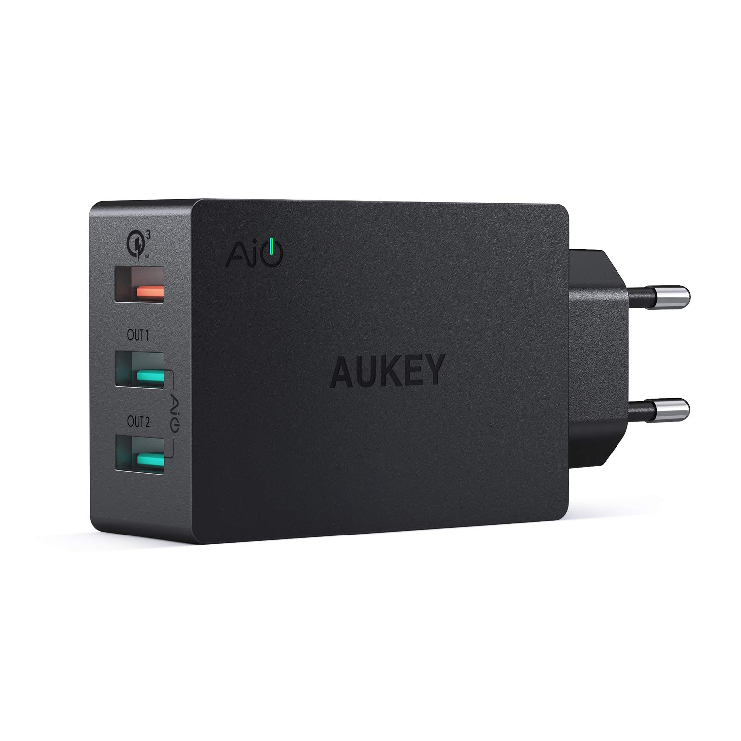 AUKEY Quick Charge 3.0 Caricatore USB da Muro 43,5W