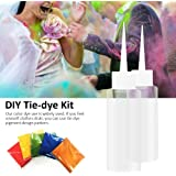 Tie-Dye Kit, 5 Colors One-step Tie-dye Kit Diy Clothing Graffiti Dye Party Supplies For Kids, Adults
