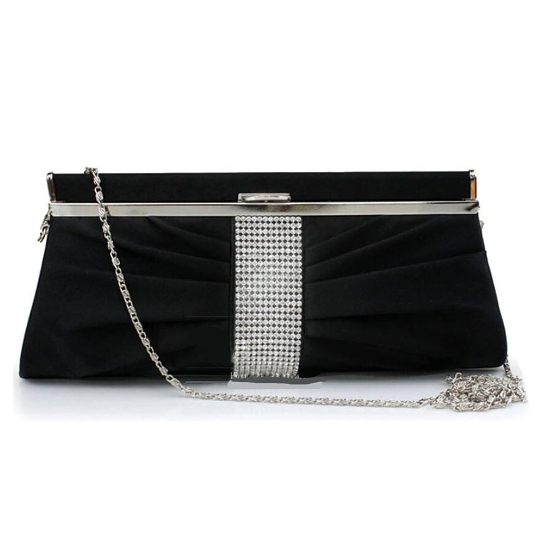 Abless Womens Glamour Elegant Evening Clutch Fashion Purse Chain Handbag -SK941