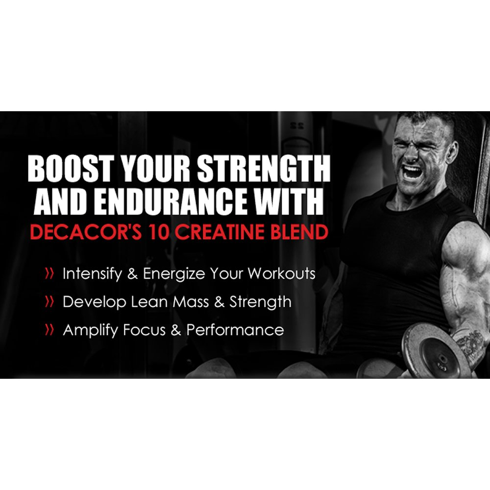 Decacor Creatine (2 Pack) - Best Creatine Powder - 10 Creatine Blend - Top Creatine Supplement - Enhance Muscles, Power and Recovery by XPI Supplements (Image #4)