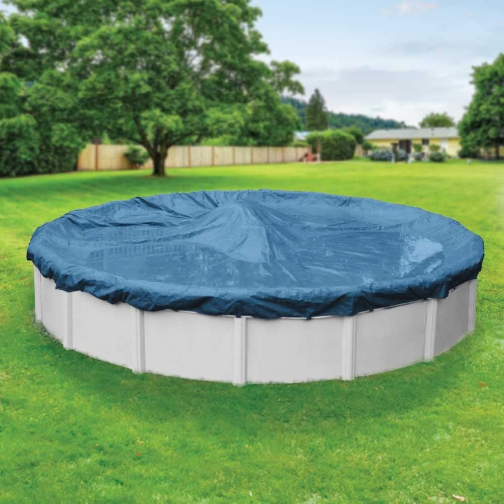 Robelle 3524-4 Super Above Ground Swimming Pool Cover for 24-Feet Round Pool