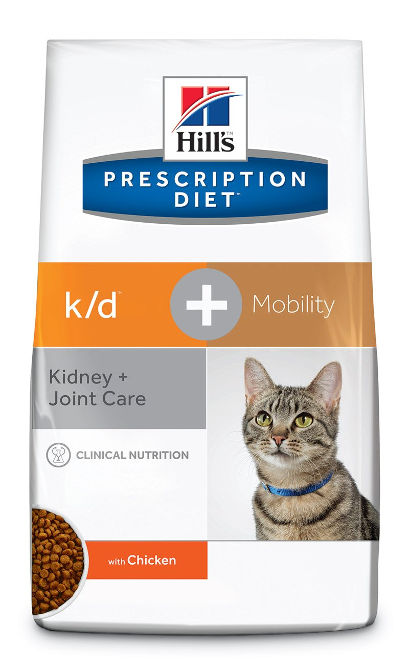 Hills k/d+ Mobility Prescription Diet - Comida para Gatos, 5 kg: Amazon.es: Productos para mascotas