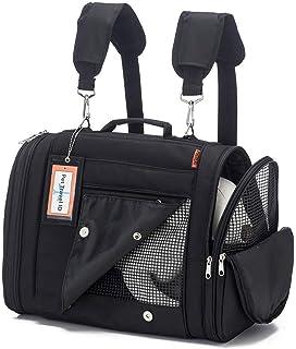 "b4bf231e65 Prefer Pets  Hideaway Backpack - Pet Travel Carrier - 17""L x 12"""