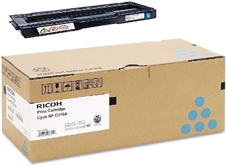 Ricoh 406345 Cyan AIO Toner Cartridge Type SP C310A
