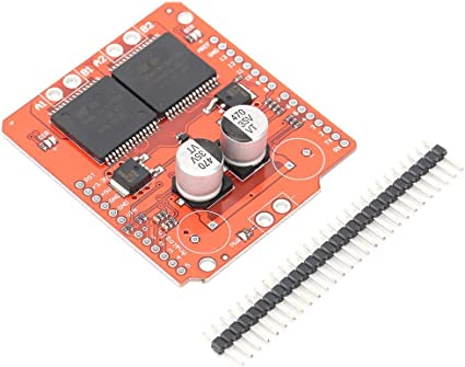ASHATA VNH2SP30 Large Current Motor Driver Board Stepper Motors Module with 1 Pin,16V 30A Stepper Controller Board Stepper Driver Board Module with The L298 H-Bridge Drive
