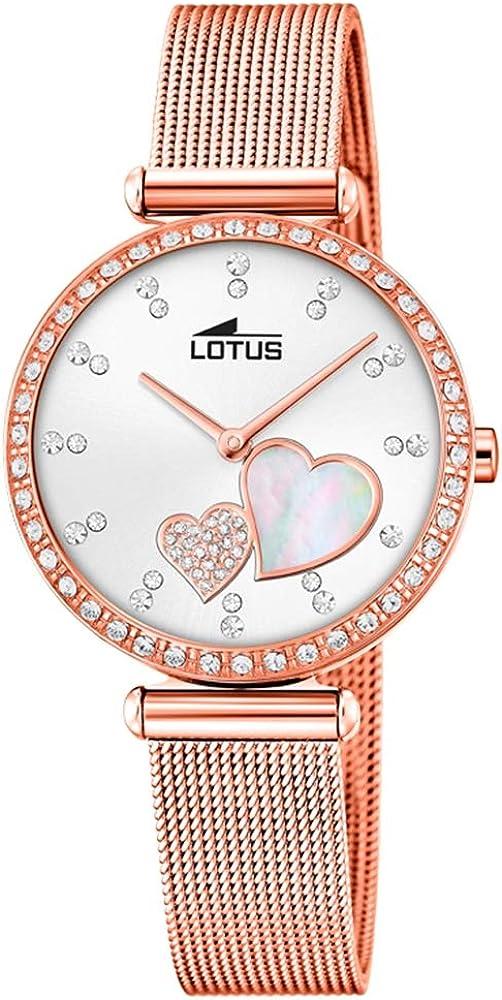 Lotus Reloj para de Cuarzo con Correa en Acero Inoxidable 18620/1