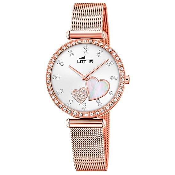 Reloj Lotus Acero Rose