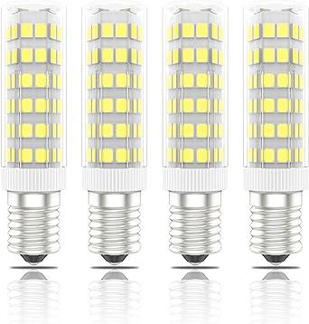 Phoenix-Bombillas LED E14 7W, 60W Halógena Equivalente, Blanco ...