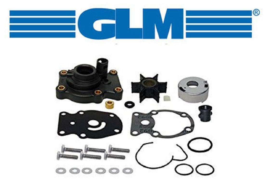 Johnson Evinrude Complete Water Pump Kit 20 35hp Glm 1973 25 Wiring Harness Part Number 12070 Sierra 18 3382 Omc 393630 Automotive